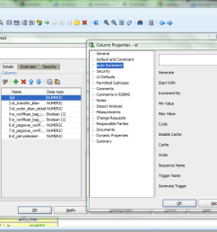 how to set auto increment column with sql developer [ 1361 x 675 Pixel ]