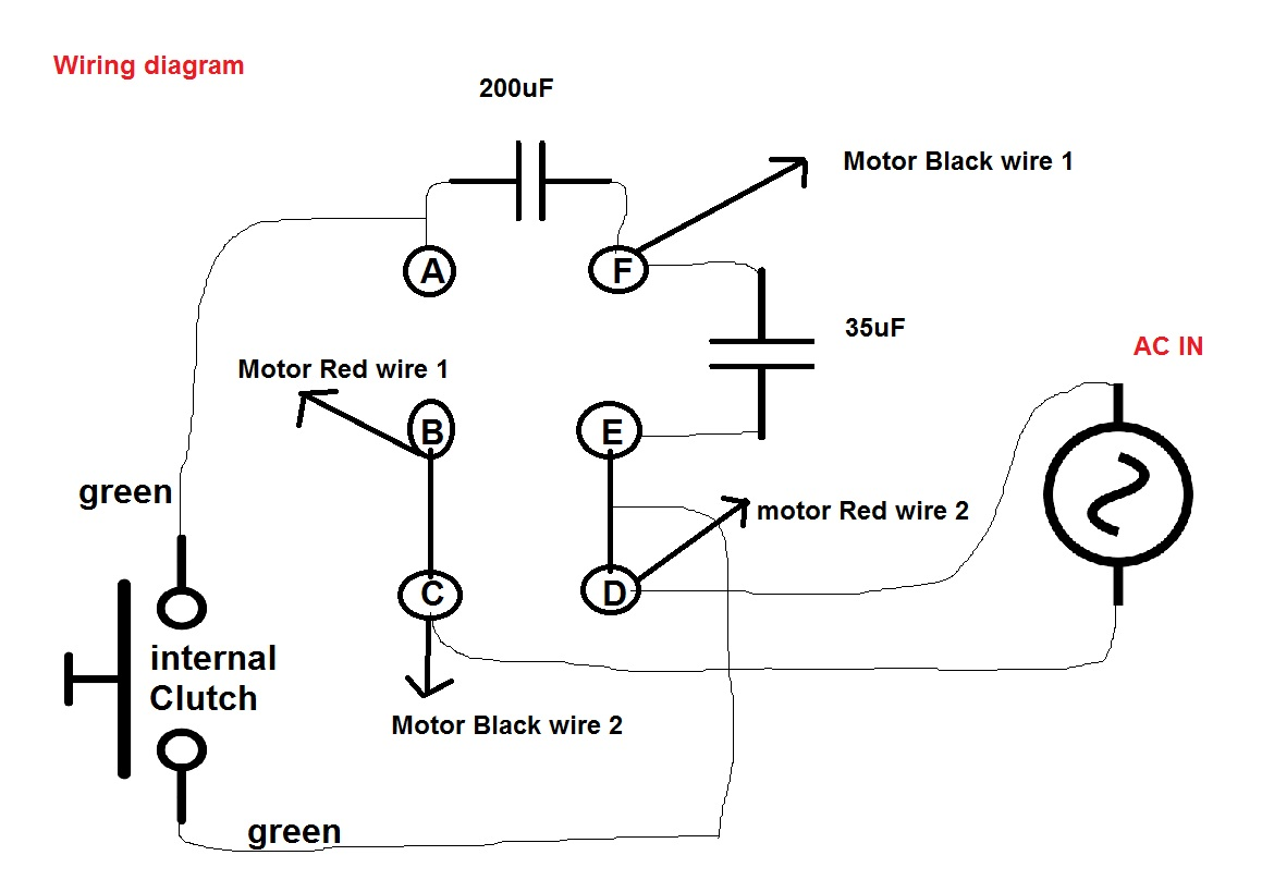 [DIAGRAM] Wiring Diagram Electric Motors Capacitors FULL