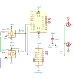 foot pedal which tells an arduino when to briefly turn on an h bridge made of beefy n channel mosfets hooked up across a big 33mf 100v capacitor that  [ 2200 x 1220 Pixel ]