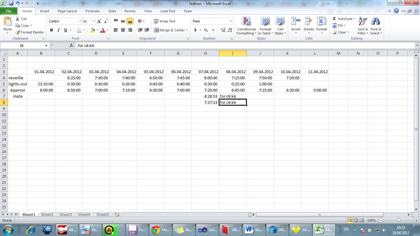 How Calculate Average Time In Excel If Sum Of Hours More Than 24