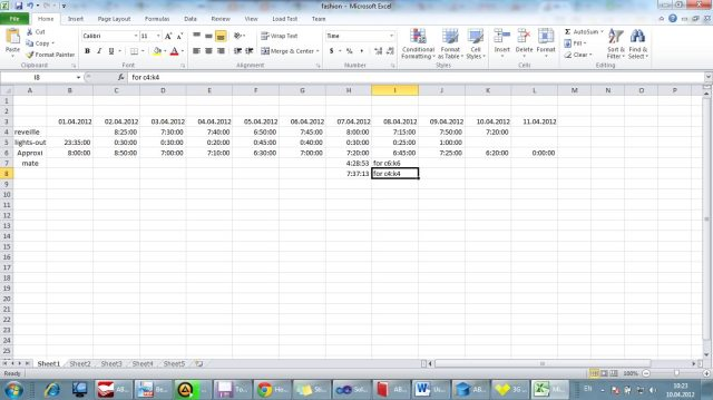 How calculate average time in Excel (if sum of hours more, than 23