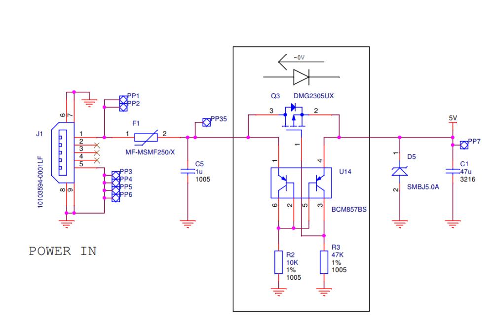 medium resolution of usb power supply input