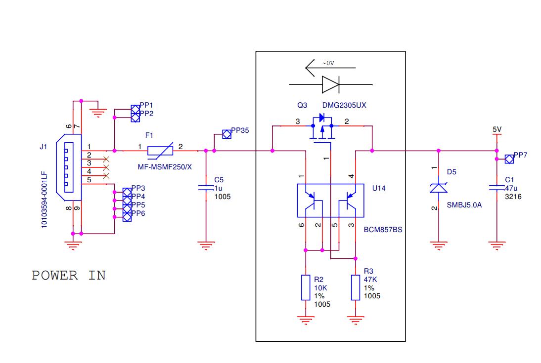 hight resolution of usb power supply input