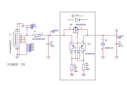 small resolution of usb power supply input