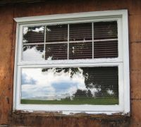 Should I replace the window frame while installing ...