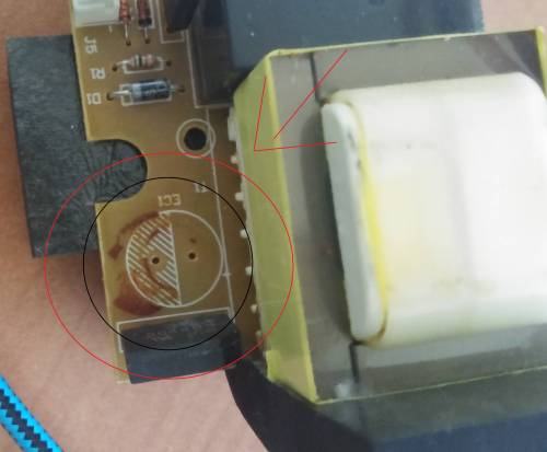 small resolution of how to determine the electrolytic capacitor polarity from pcb printings