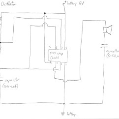 Car Capacitor Wiring Diagram Audio 4 Prong Night Vision Oscillator What Do Capacitors In A System With