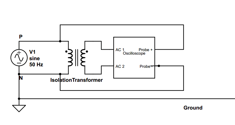 Why do we need an isolation transformer to connect an