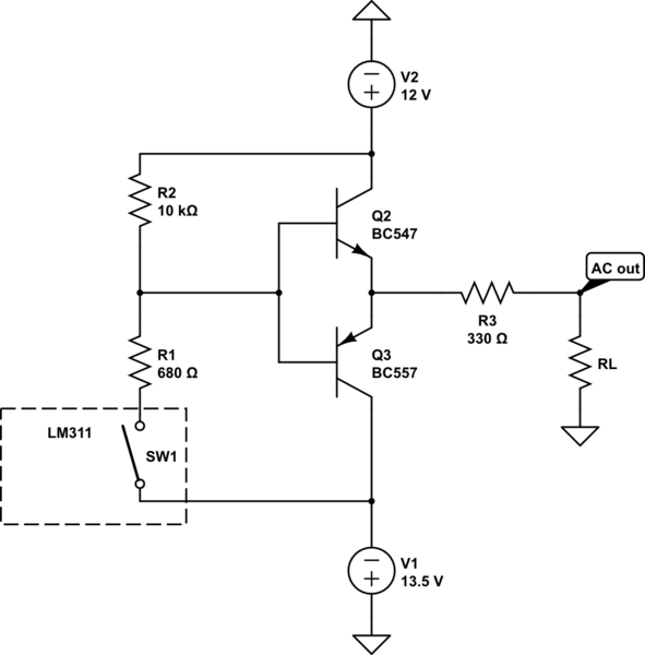 How to get rid of voltage drop of this timer circuit