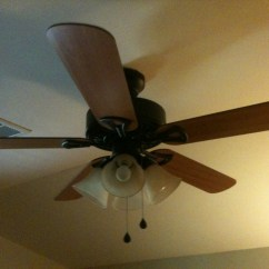 Switch Wiring Ceiling Fan Dish Network Hopper Installation Diagram Installed Now Light Not Working