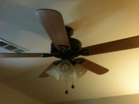 Installed Ceiling Fan, Now Light Switch Not Working