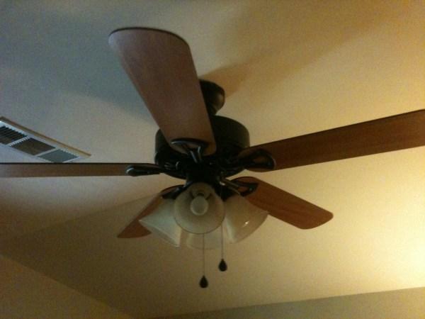 Installed Ceiling Fan Light Switch Working
