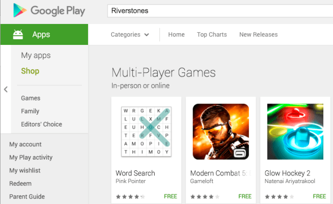 How To Get To Google Play Multi Player Games Section