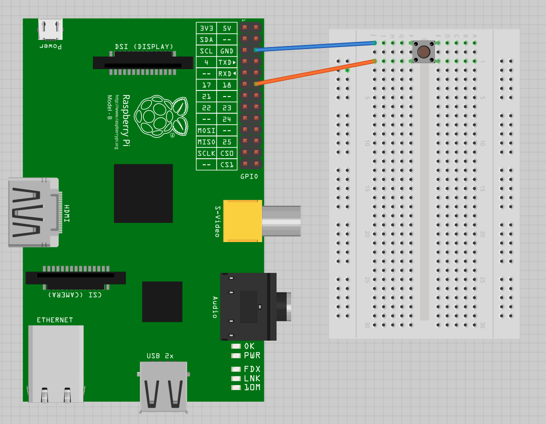 hight resolution of gpio wire button without resistor raspberry pi stack exchange raspberry pi b wiring along with raspberry pi reed switch