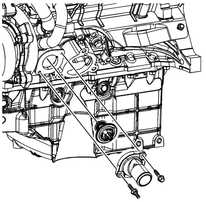 Chevy Cavalier Thermostat 2 Engine Diagram Chevy Cavalier