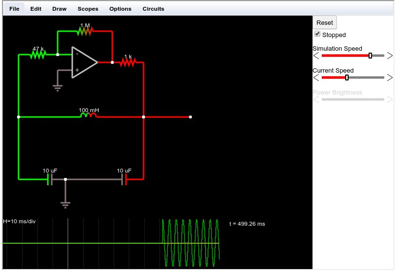 The Above Circuit Is About The Simplest Opamp Based Oscillator Circuit