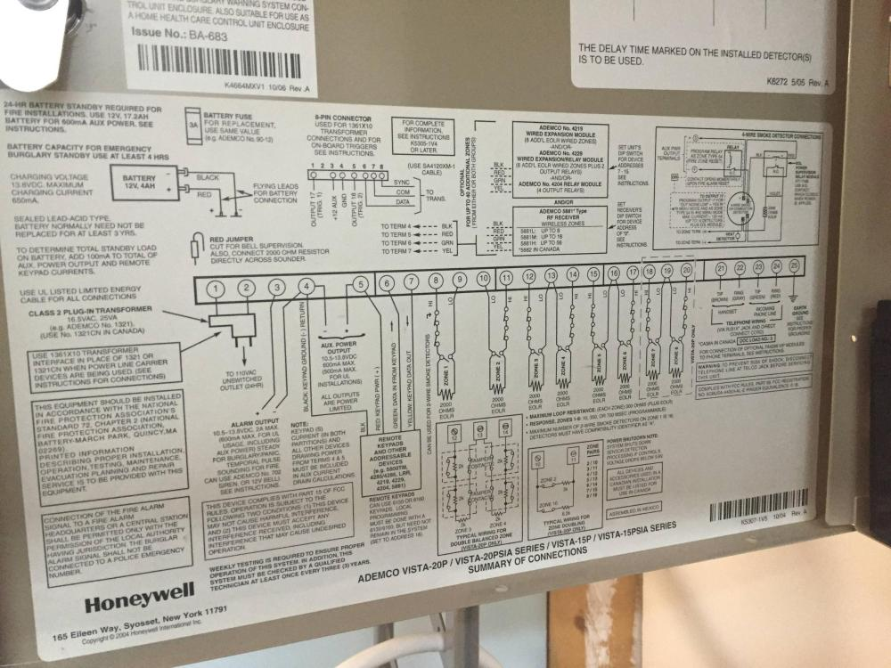 medium resolution of interfacing raspberry pi to honeywell alarm system 3v vs 12v honeywell addressable fire alarm system wiring diagram honeywell alarm system wiring diagrams