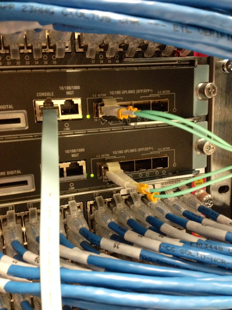 switch  Cisco 4510RE Can I safely use SFP interfaces on