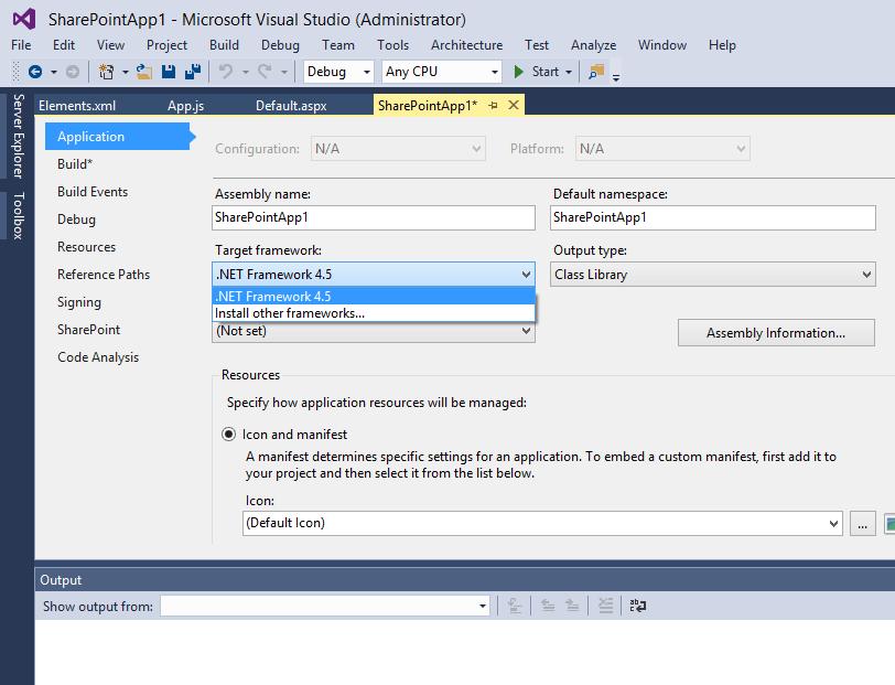 .net - installed new development framework not available - Stack Overflow