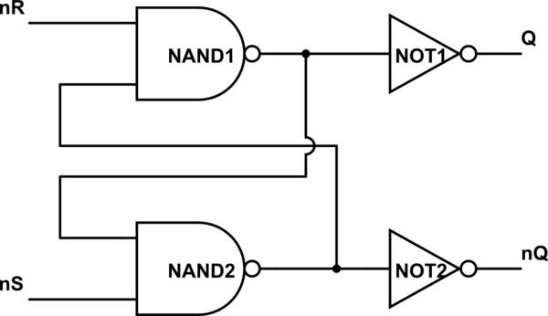 t flip flop circuit diagram