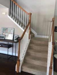 stairs - Converting housed stringer to open stringer ...