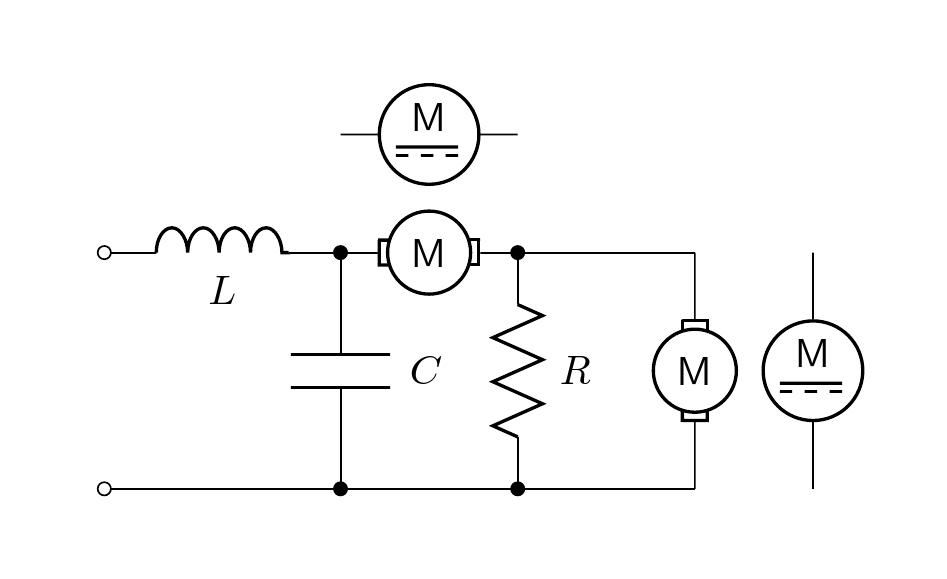 symbols how to draw a dc motor in circuitikz tex latex stack
