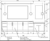 electrical - What is the proper placement for bathroom ...