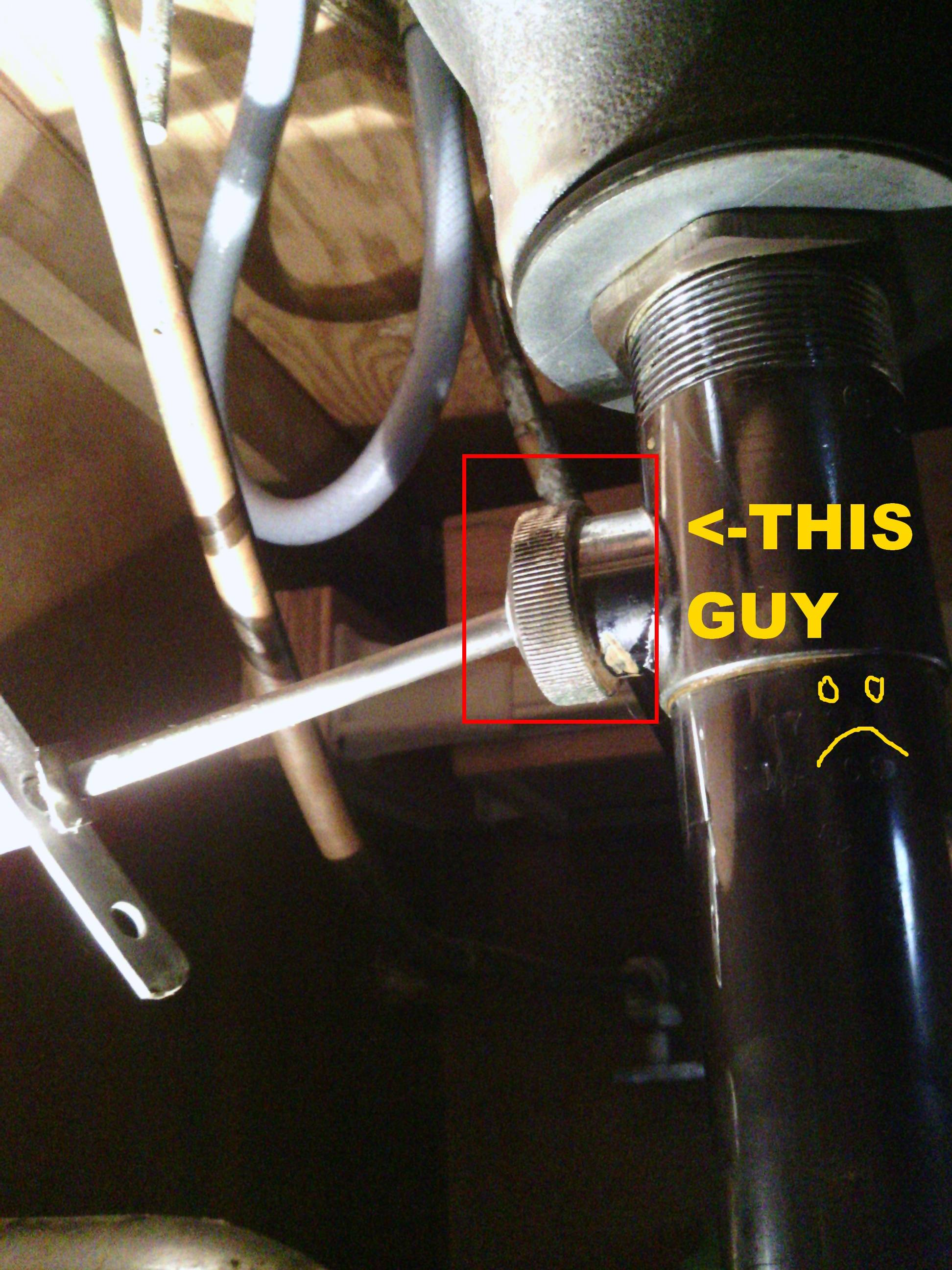 plumbing  How do I loosen my bathroom stopper pivot nut  Home Improvement Stack Exchange