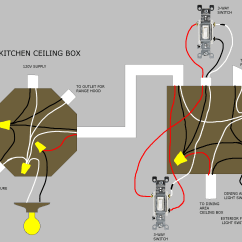 3 Gang Light Switch Wiring Diagram Multiple Lights Car Stereo Amp Electrical Is This Ceiling Box Correct And How