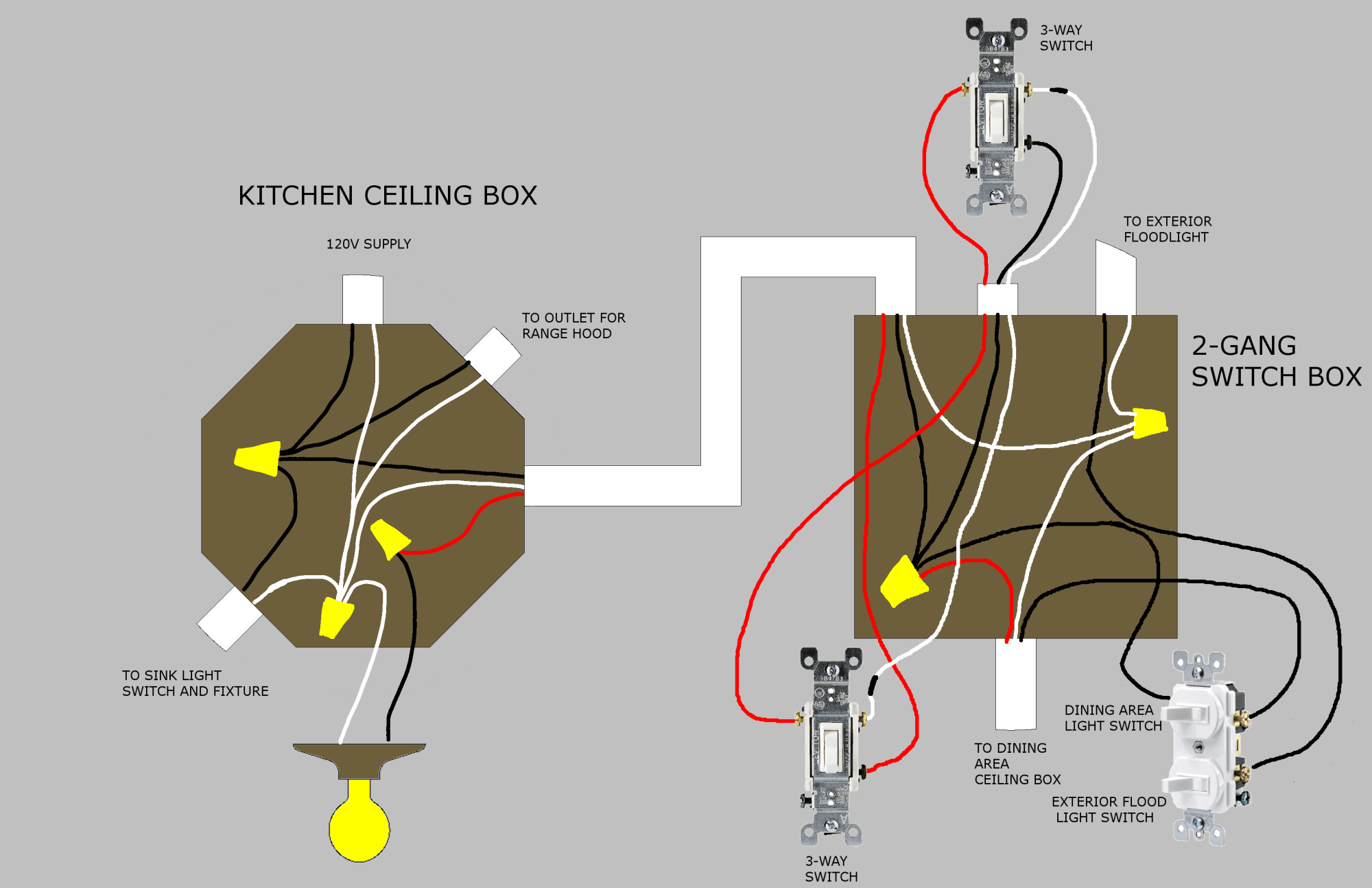 hight resolution of  new wiring plan