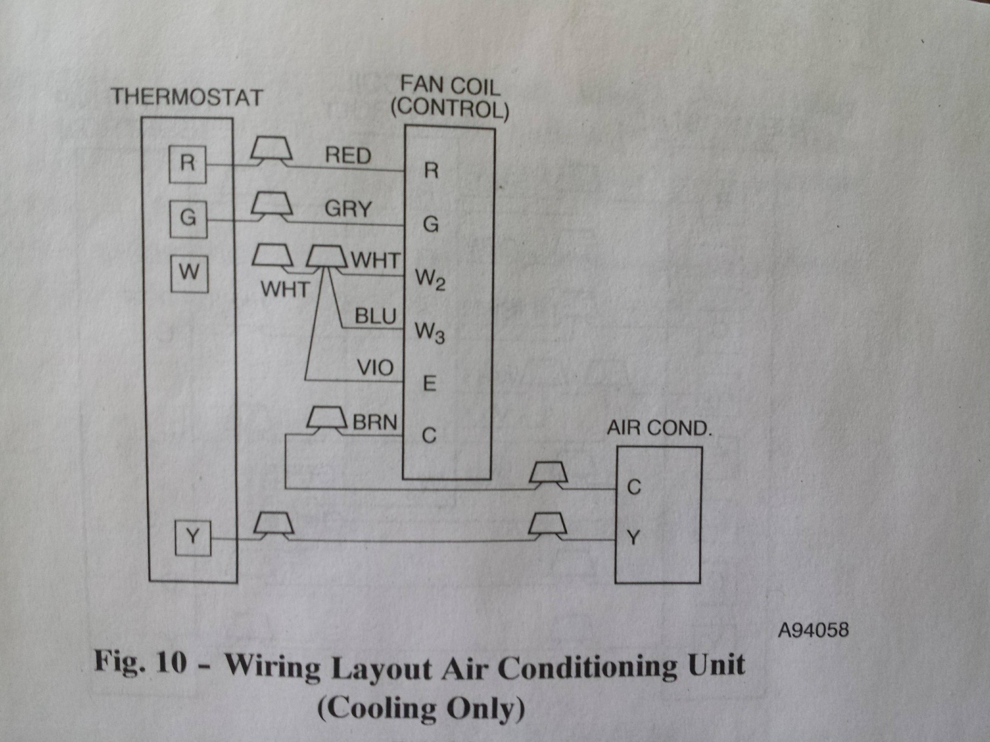 Thermostat Wiring No Labels