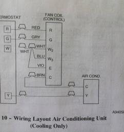 ac only wiring below is old picture of tstat  [ 3344 x 2508 Pixel ]