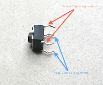 dpdt momentary switch wiring diagram ford mondeo stereo project 01: help me understand weird push button & breadboard behavior