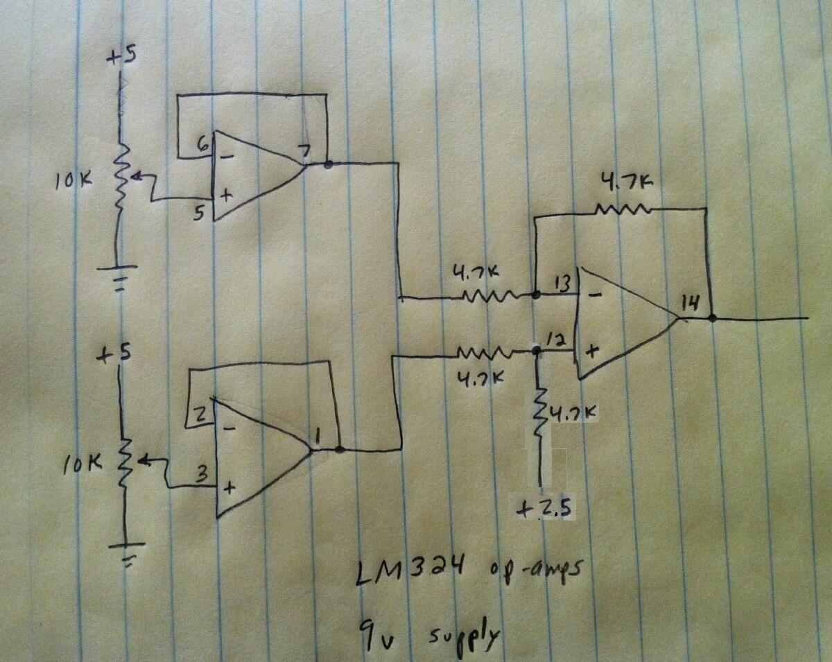 Controller Circuit Using 741 Opamp Schematic Diagram Wiring Diagram