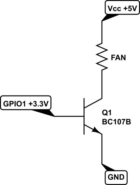 Choosing a transistor for my Raspberry Pi 5v fan