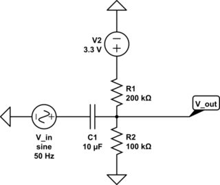 Will a resistor connected in parallel with a high-pass