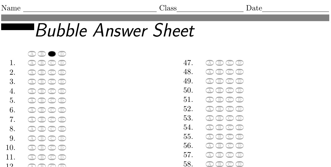 "Search Results for ""Multiple Choice Answer Sheet"