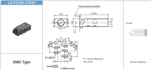 connector  Audio Jack Schematic  Electrical Engineering Stack Exchange