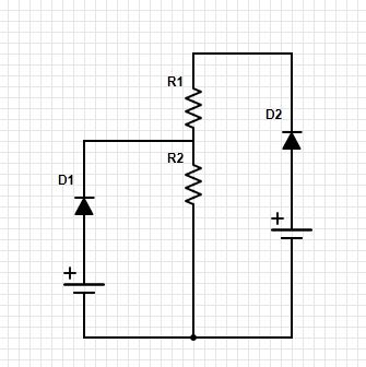 Math to predict current in circuit with different voltages