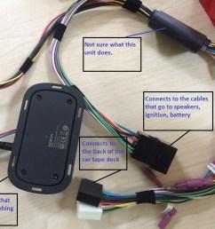 wiring diagram nokia car kit wiring diagram mix hacking a bluetooth receiver to a hands free [ 1600 x 1200 Pixel ]