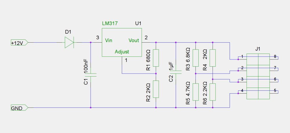 medium resolution of simple linear regulated fast charger