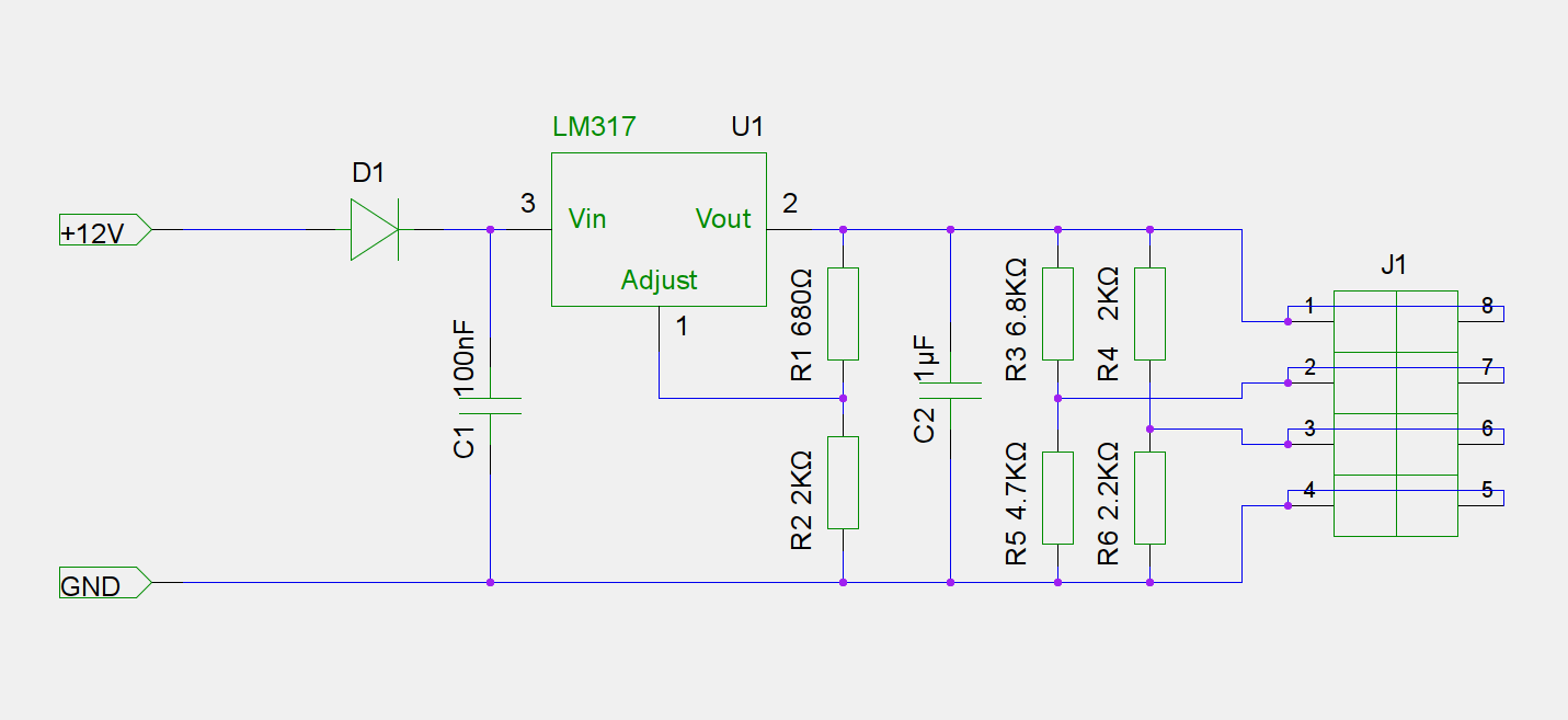 hight resolution of simple linear regulated fast charger