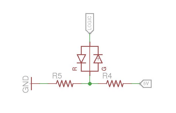 How do you calculate the resistor value for a bicolor led