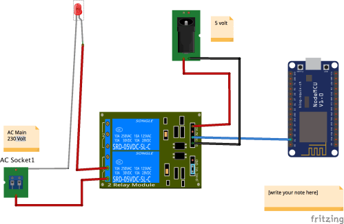 small resolution of relay are powered with a different power source than nodemcu