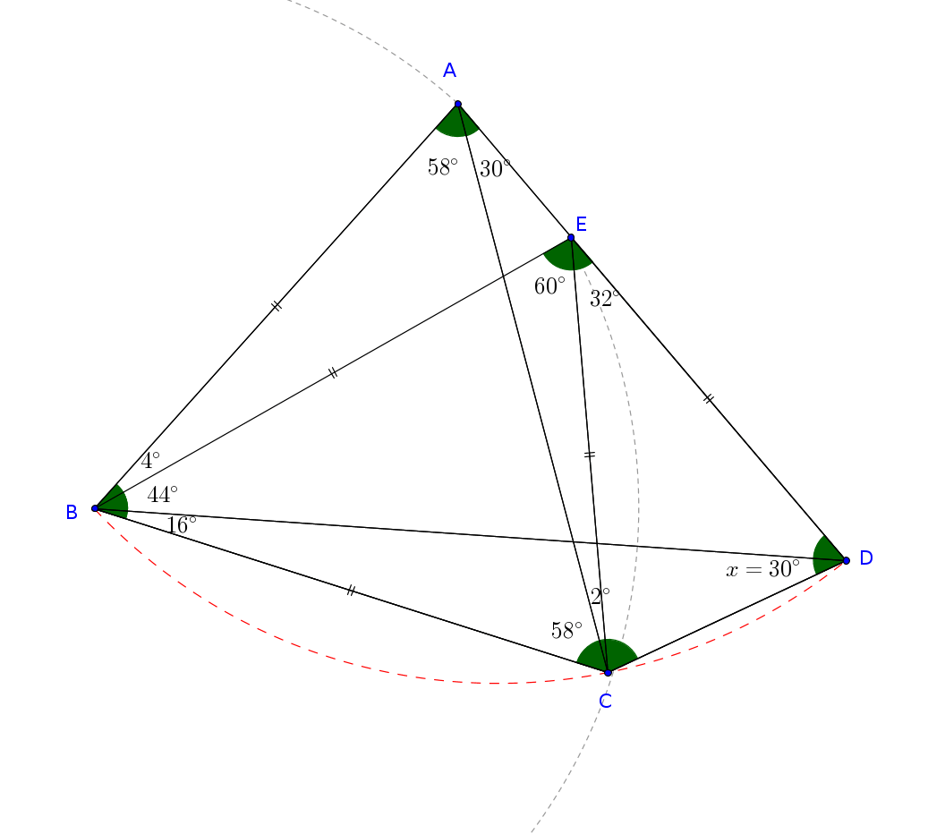 Question: What theorem should I use for this geometry