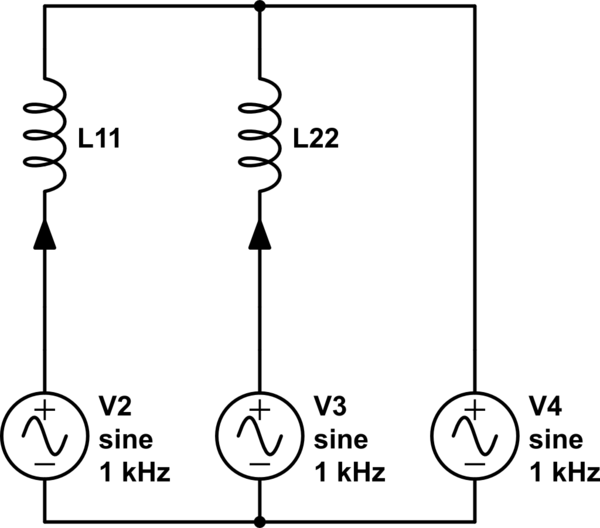 inductor circuit l1 is the inductor to be