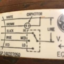 Wiring Diagram For Ac Unit Capacitor Volvo Fan Relay Hvac Where Does The Extra Wire Connect On My New Furnace Blower Here S Existing Motor Original Name Plate