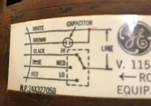 hvac  Where does the extra wire connect on my new furnace blower motor?  Home Improvement