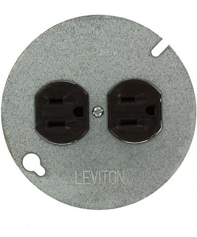 Round Outlet Cover Plate : round, outlet, cover, plate, Standard, Outlet, Installed, Round, Ceiling, Improvement, Stack, Exchange