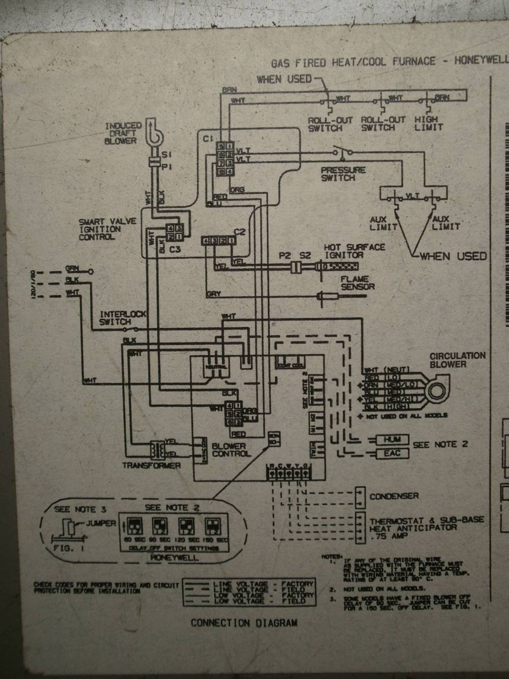 medium resolution of goodman hvac fan wiring diagram hvac troubleshoot ac issue no inside blower home improvementpart 1